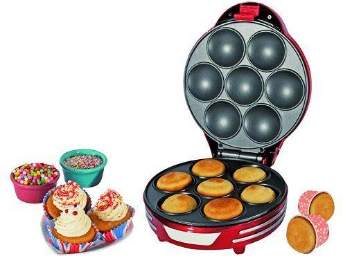 Ariete 188 Party Time Muffin Maker in Rot für 19,99€ (statt 28€)