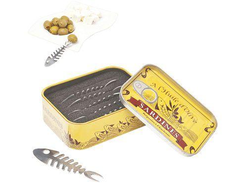BALVI 12242 Sardinen Piekser aus Edelstahl für 7€ (statt 14€)