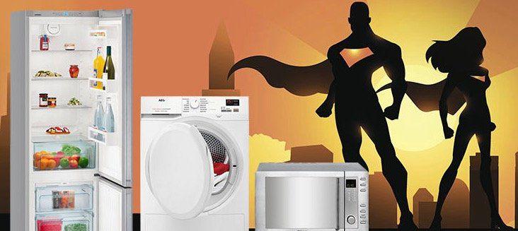 Saturn Helden des Alltags (günstige Einbau  & Großgeräte)   z.B. Beko WML 81434 NPS Waschmaschine mit 8kg für 399€ (statt 474€)