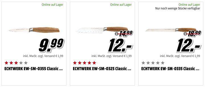 Echtwerk Haushalts Sale bei Media Markt   z.B. ELO Omega Edelstahl Topf Set (4 teilig) für 79€ (statt 122€)