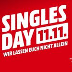 🔥 Singles Day 2018: Media Markt – 11% dank Masterpass – Beste Deals Übersicht!
