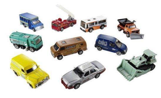 10er Pack Matchbox Lightning World Fahrzeuge ab 6,99€ (statt 17€)