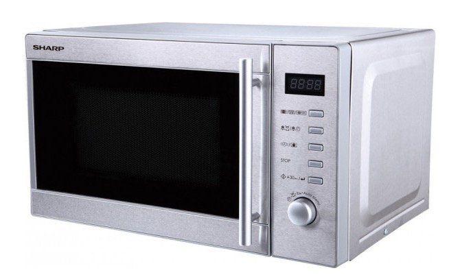 Sharp R 60STW Mikrowelle mit Grillfunktion für 59,90€ (statt 80€)