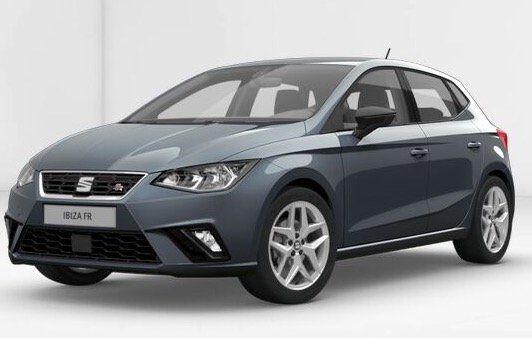 Seat Ibiza FR 1.0 TSI Gewerbe Leasing für 70,21€ brutto mtl. (59€ netto)