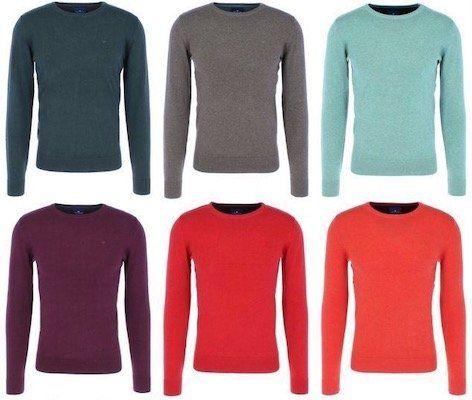 Tom Tailor Herren Basic Sweater aus 100% Baumwolle für je 22€ (statt 32€)