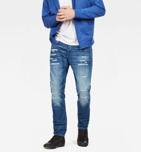 G Star RAW Herren 3301 Straight Tapered Denim Jeans für 59,97€ (statt 71€)