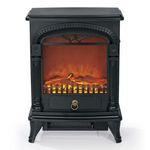 EASYmaxx Nostalgie Elektro-Kamin mit Flammeneffekt für 79,99€ (statt 106€)