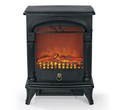 EASYmaxx Nostalgie Elektro Kamin mit Flammeneffekt für 79,99€ (statt 106€)