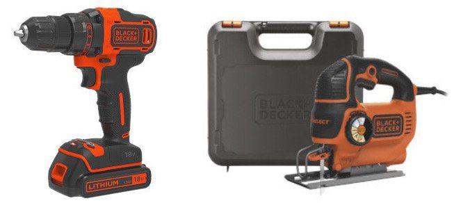 🔨 Black & Decker Sale bei vente privee   z.B. 18V BDCDD186KB Akku Bohrschrauber inkl. 2 Akkus ab 79,99€(statt 139€)