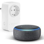 Amazon Echo Dot (3. Gen.) + Amazon Smart Plug (WLAN-Steckdose) für 35,94€