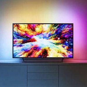 Philips 50PUS7373   50 Zoll UHD Fernseher mit HDR+ und 3 seitigem Ambilight für 455€ (statt 555€)   nur eBay Plus