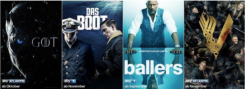 Wieder da! ? Sky & Netflix Serien in HD ab nur 16,49€ mtl. + gratis Sky Q Receiver   HOT!