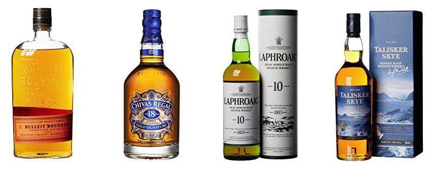 Bis zu 35% Rabatt auf Whisky bei Amazon   z. B. 0,7L Laphroaig Islay Single Malt für 23,99€ (statt 34€)