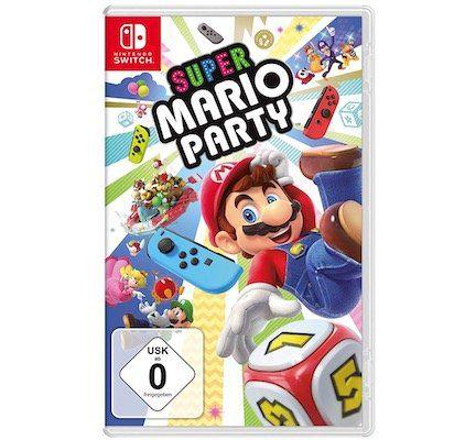 Vorbei! Super Mario Party (Nintendo Switch) für 36,49€ (statt 48€)