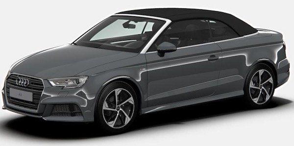 Audi A3 Cabrio Sport 35 TFSI inkl. S line & Navi Leasing (privat und gewerblich) für 299€ mtl.