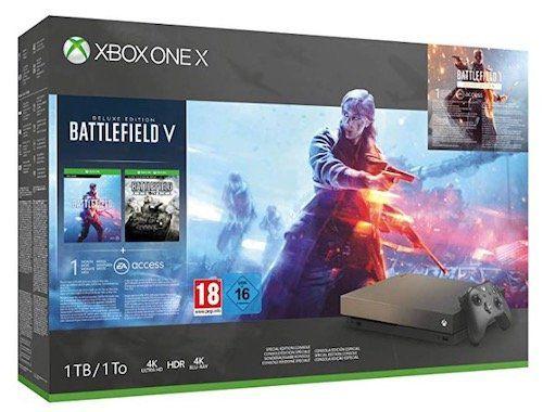 VORBEI! Xbox One X Konsole + Battlefield 5 für 341,10€ (statt 380€)
