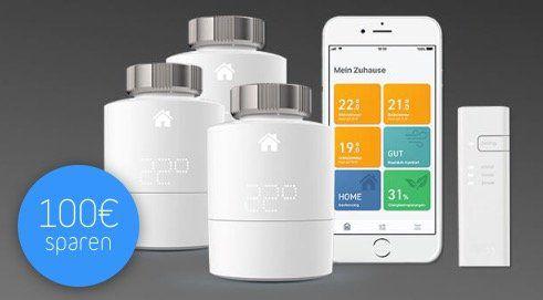 ? Tink Smart Home heftige Preise dank Black Freitag   z.B. tado Starter Kit V3+ mit 5 Thermostaten inkl. Google Home Mini für 299,94€ (statt 423€)