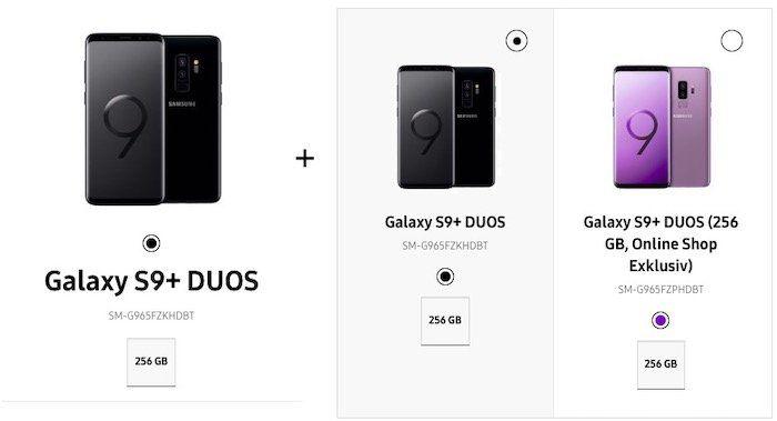 Knaller! 2x Samsung Galaxy S9 256GB für 949€ (statt 1.338€) oder 2x Samsung Galaxy S9+ 256GB für 1.049€ (statt 1.598€)
