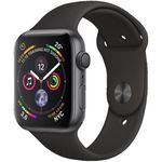 Apple Watch Series 4 GPS 44mm Space Grau Aluminium Sport Band für 419€ (statt 465€)