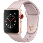 Apple Watch Series 3 (GPS + LTE) 38mm in Sandrosa mit Sportarmband für 360,81€ (statt 410€)