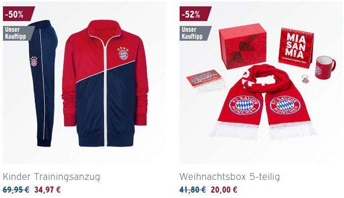 FC Bayern Fanshop Sale mit bis zu  50%   z.B. FC Bayern Grillschürze für 9,92€ (statt 20€)
