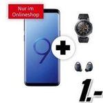 Media Markt Tarif-Angebote am Cyber-Monday – z.B. Galaxy S9 + Galaxy Watch + Gear IconX für 1€ + Telekom Flat mit 8GB für 31,99€ mtl.