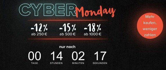 home24 mit bis zu 18% Extra Rabatt im Cyber Monday Sale + keine VSK + gratis Retoure