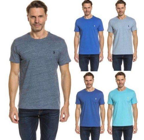 Ralph Lauren T Shirts mit Rundhals in Custom Fit für je 17,99€ (statt 30€)