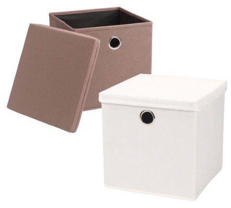 4er Pack Echtwerk Faltbox Rack für 19,90€ (statt 40€)   passend für alle IKEA Expedit Regale