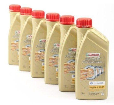 6 Liter Castrol Edge Professional Motoröl LongLife 3 Titanium FST 5W30 für 46,75€ (statt 54€)
