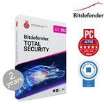 Bitdefender Total Security 2019 (2 Jahre, 10 Geräte) für 36,95€ (statt 60€)