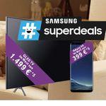 🔥 Knaller! Telekom MagentaZuhause M und L mit MagentaTV + Samsung GQ55Q8DN 55 Zoll QLED TV + Samsung Galaxy S8