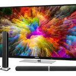 Medion X15523 – 55 Zoll UHD Fernseher inkl. wandelbarer TV Soundbar E64058 für 444€ (statt 509€)