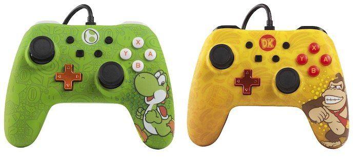 Nintendo Switch Controller in verschiedenen Designs (kabelgebunden) für je 24,99€