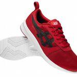Asics Lyte-Jogger Sneaker in Rot für 32,94€