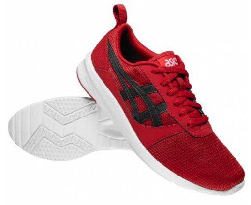 Asics Lyte Jogger Sneaker in Rot für 32,94€