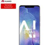 Huawei Mate 20 Pro (49€) + o2 Free M Boost Tarif (20GB LTE, Allnet/SMS-Flat, EU-Roaming) für 39,99€ mtl.
