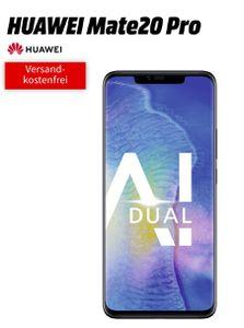 Vorbei! Huawei Mate 20 Pro (5€) + o2 Free M Boost Tarif (20GB LTE, Allnet/SMS Flat, EU Roaming) für 39,99€ mtl.