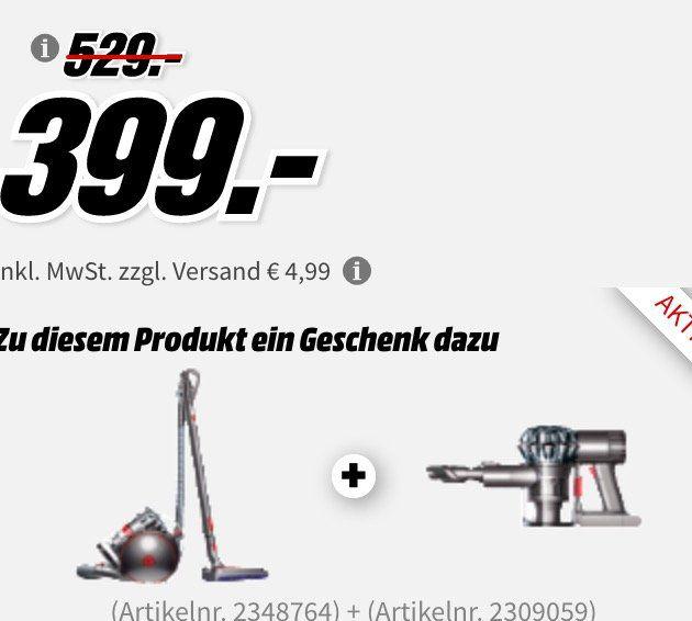 ? Knaller! Dyson Cinetic Big Ball Absolute 2 + Dyson V6 Trigger für 399€ (Vergleich: 585€)