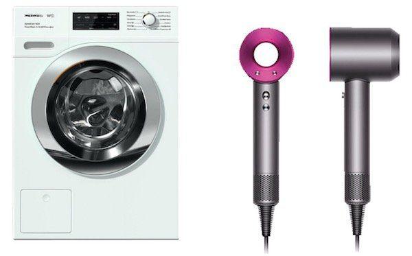 Miele WCH 370 WPS Speedcare Waschmaschine für 1.298,90€ + Dyson Haartrockner geschenkt (Wert 359€)