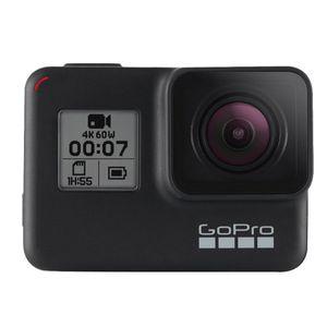 GoPro Hero7 Black Actioncam (4k mit 60fps) für 265,49€ (statt 302€)