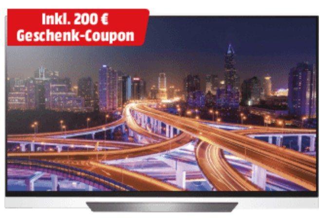 LG OLED55E8LLA   55 Zoll OLED UHD Fernseher ab 1.799€ + 200€ Gutschein geschenkt