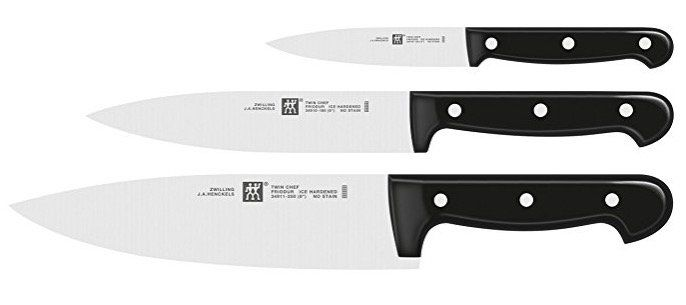Zwilling Twin Chef Messerset 3 tlg. für 39,18€ (statt 54€)