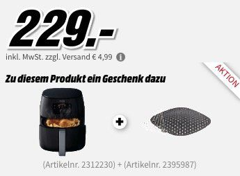 Philips Airfryer XXL HD9652 Heißluft Fritteuse + Grill Kit ab 229€ (statt 274€)