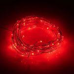 Utorch 5m LED-Dekostreifen mit 50 LEDs (rot) für 1,97€