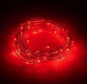 Utorch 5m LED Dekostreifen mit 50 LEDs (rot) für 1,97€