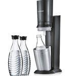 Sodastream Crystal 2.0 mit 3 Karaffen + Zylinder inkl. 6 Leonardo Gläser für 99€ (statt 126€)