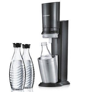 Sodastream Crystal 2.0 Wassersprudler mit 3 Glaskaraffen + 1 Zylinder für 111€ (statt 129€)