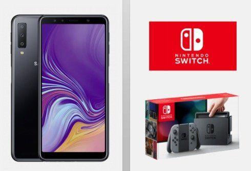 Samsung Galaxy A7 (2018) + Nintendo Switch für 4,95€ (oder PS4 Pro für 59,95€) + Vodafone Allnet Flat mit 5GB LTE für 36,99€ mtl. ?