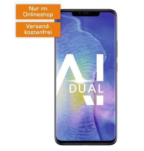 Knaller! Huawei Mate 20 Pro für 99€ + Telekom Allnet Flat mit 8GB für 31,99€ mtl.